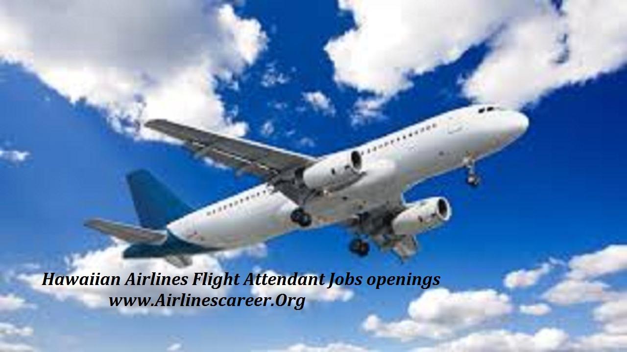Hawaiian Airlines Flight Attendant Jobs