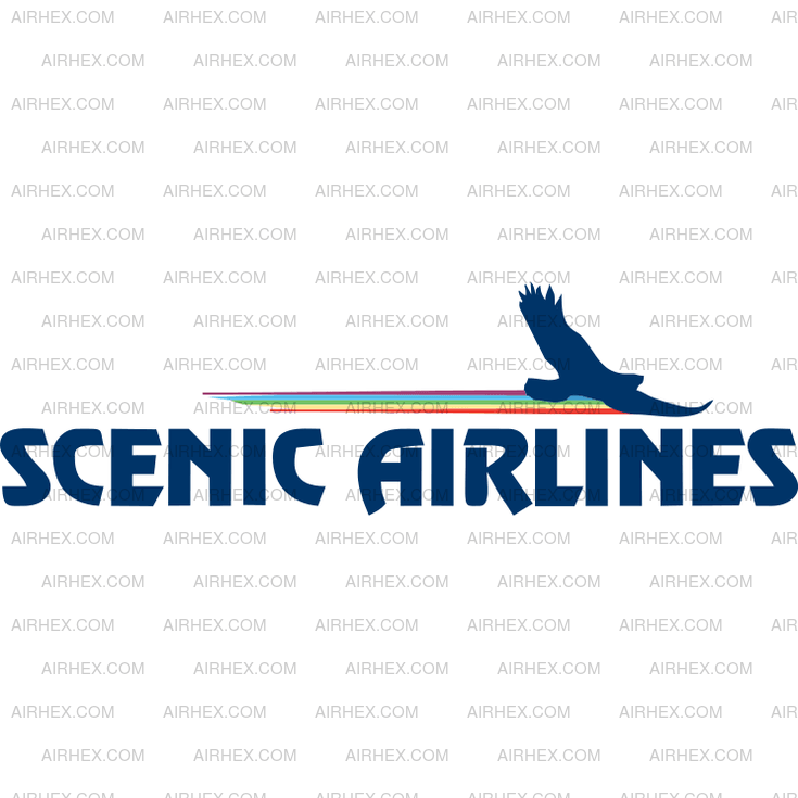 Scenic Airlines Logo